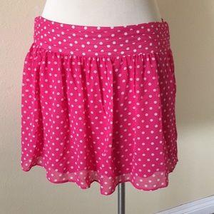 Dresses & Skirts - PINK AND CREAM MINI